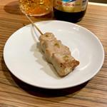 炭焼きスタンド komorebi - *ムネ(1本:¥150)※柚子胡椒