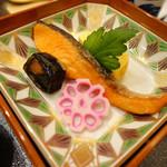 京料理 濱登久 - 朝食(鮭)