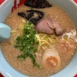 山岡家 - 料理写真:プレミアム塩とんこつ¥860