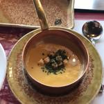 南海グリル - コーンポタージュスープ