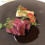 Le Salon de Legumes - 小豆島オリーブ牛のア・ラ・プランシャ