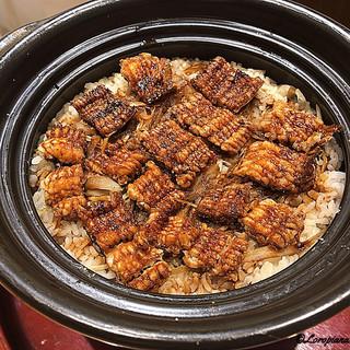 粋・丸新 - 料理写真:鱧の炊き込みごはん