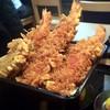 磯美家 - 料理写真:海老3本、きす、かき揚げ、野菜