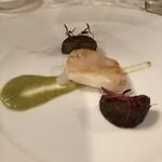 Le Salon de Legumes - カレイのあやめ蕪のソースで