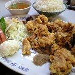 Koushienhanten - カラアゲ定食 ¥880