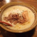 麺場唐崎商店 - 麺場唐崎商店・九州麦味噌ラーメン¥690(2011.10)