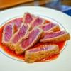 イワナガ食堂 - 料理写真:☆本マグロ大トロのレアカツ(限定2食)1600円