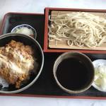 茂兵衛 - 料理写真:ミニかつ丼+もり蕎麦