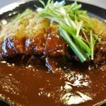 鷲羽山レストハウス - ハリハリの水菜とのコラボが美しい