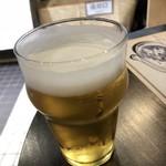 立ち呑みBAR COCO - こしひかり越後生ビール