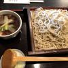 そば処 藤屋 - 料理写真:大せいろに鴨汁で1,050円