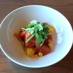 100073702 - トマトのサラダ