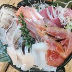 タカマル鮮魚店  - 刺身盛り合わせ(上)