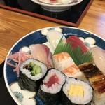 寿司竹寅 - 今回、私もお袋も「明石」という定食をいただきました(2019.1.14)