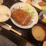 とんかつ棟田 - ヒレかつ定食