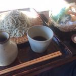 そば家 和味 - 野菜天ぷらせいろ