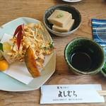 よしむら - お昼せっと(蕎麦が来る前)