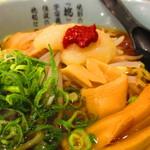 伝説のすた丼屋 - 『醤油らーめん(小)』