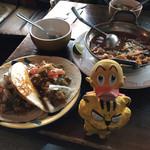 エルパンチョ - メキシコ料理と人形の図
