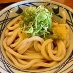 丸亀製麺 - 今回は絶対間違わないと勉強してきた「ぶっかけ・冷」!!