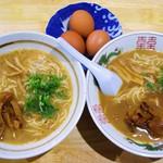 徳島ラーメン 麺八 - 今回いただいたもの