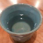 そば二十三 - 和らぎです。(日本酒の合間のお水です。)