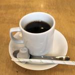 さくらバーガー - セットのホットコーヒー♪