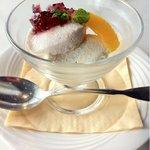 銀座スカイラウンジ - ランチ デザート