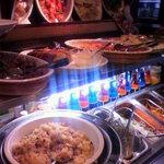ルイジアナママ - ブッフェのコーナー☆彡 とにかく盛りだくさん!