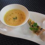 セルフィーユ - 10月22日のスープ&キッシュ