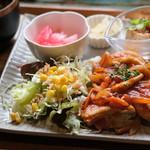 Nichinichishokudou - にちにち定食(1200円)