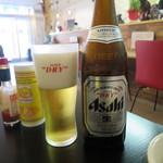 メイ キッチン カフェ - 瓶ビールはアサヒスーパードライ 430円(2019年1月)