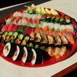 大漁寿し - 料理写真:大漁寿し 2019年1月