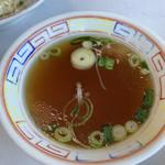 二軒目飯店 - 焼メシに付いてるスープ♡