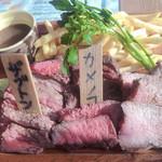 100092449 - 肉盛りプレート(時価かなー?)                       ザフドン、カメノコ、サーロイン