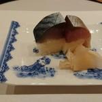 馬車道 大かわ - 鯖寿司