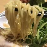 丸源ラーメン - 肉そば麺リフト