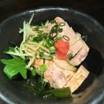 魚貝三昧 雛 - 料理写真:あん肝ポン酢