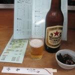 鳥竹 - 鳥竹:ビール