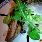 10010901 - 夜コース 鴨肉とお野菜