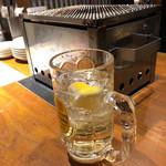 大衆酒場 藤沢ホルモン - ハイボール。ゴクゴク飲める。