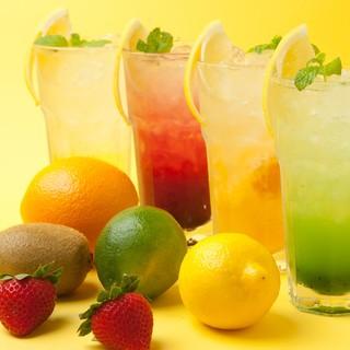 ☆待望の飲み放題プランが登場★充実した飲み物で楽しもう!!