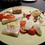 メリプリンチペッサ - 前菜5種