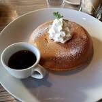 アネア カフェ - パンケーキプレーン