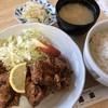 味道楽 - 料理写真:♪鮪唐揚げ定食¥680