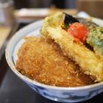 新潟カツ丼 タレカツ - 野菜ヒレかつ丼