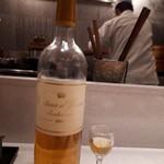 うなぎ時任 - 白ワインとペアリング