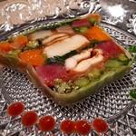100110758 - 鰻と野菜のテリーヌ