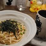 Pamplemousse - 明太子クリームスパゲッティ