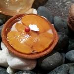 シマラボ - ユリ根と雲丹のガレット